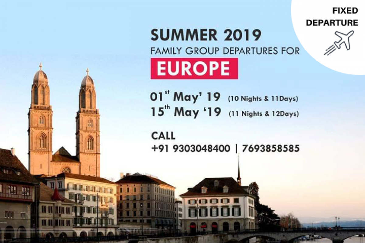 Family Group Europe: 1st May & 15th May 2019